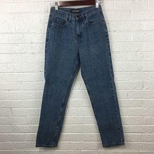 "Vintage high rise mom jeans London Jean size 2/24"""